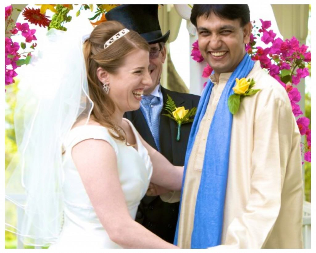 Colleen and Kulwant Mahal getting married
