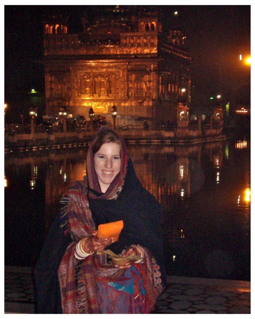 Colleen Mahal at Golden Temple in Punjab