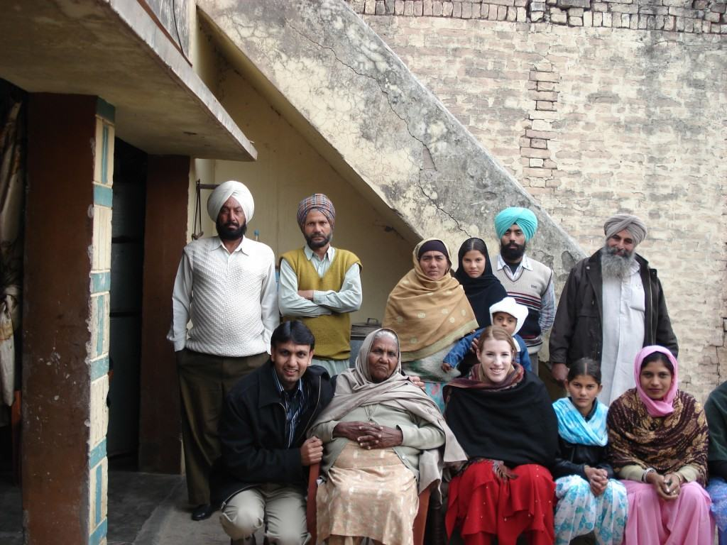 Hubby's family and childhood friends from Bombay to Punjab