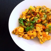 Cauliflower with Mixed Vegetables – Gobi Subzi