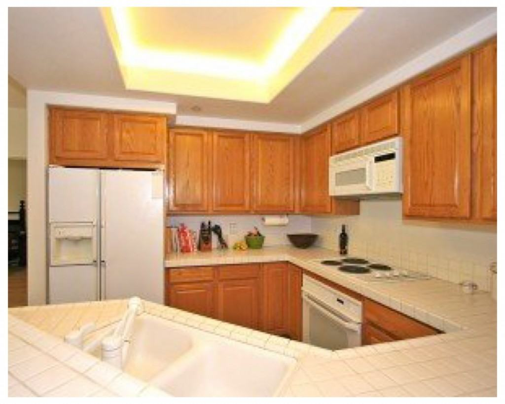 Kitchen from the real-estate listing brochure