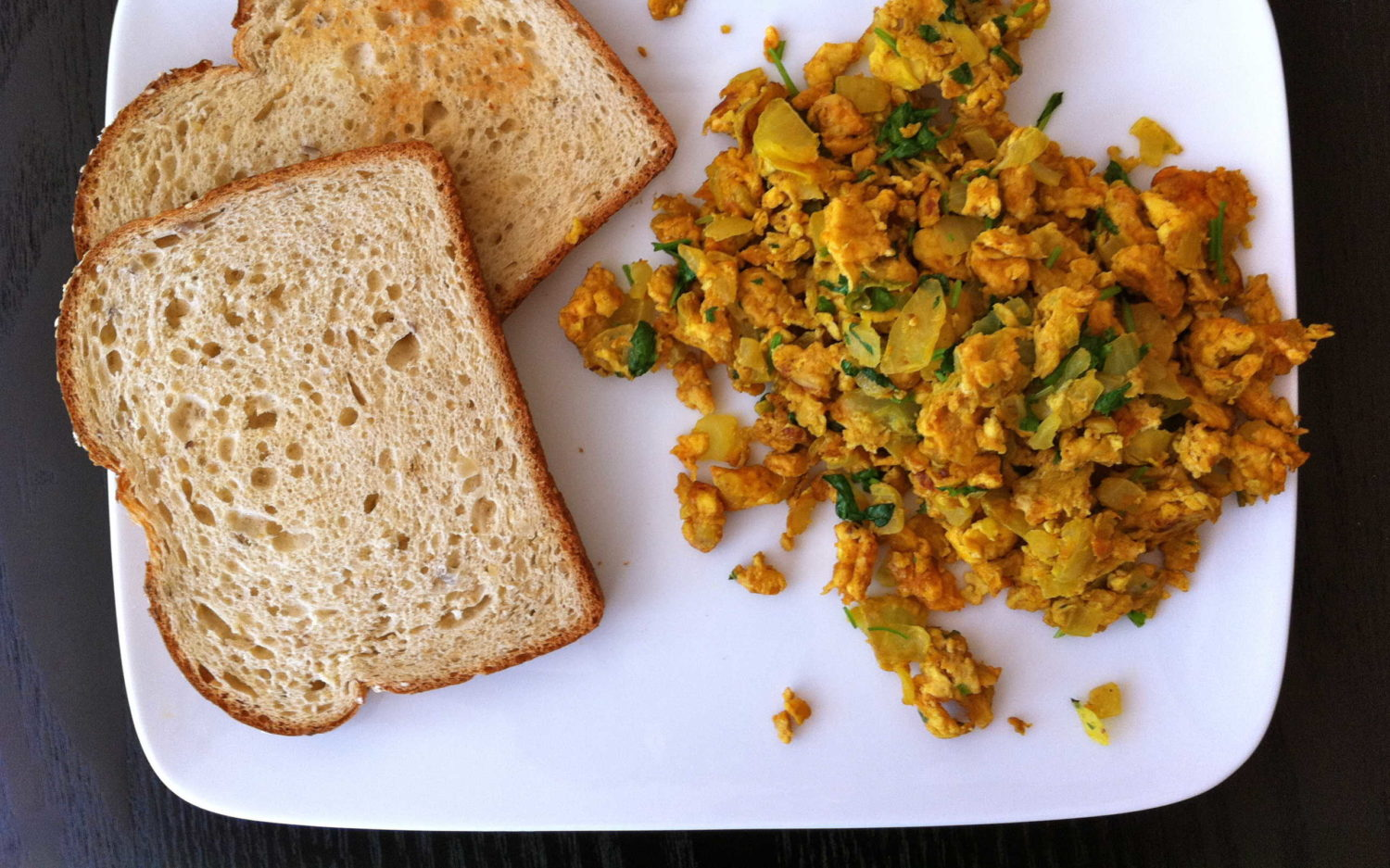 Indian Scrambled Eggs | A Curry of a Life