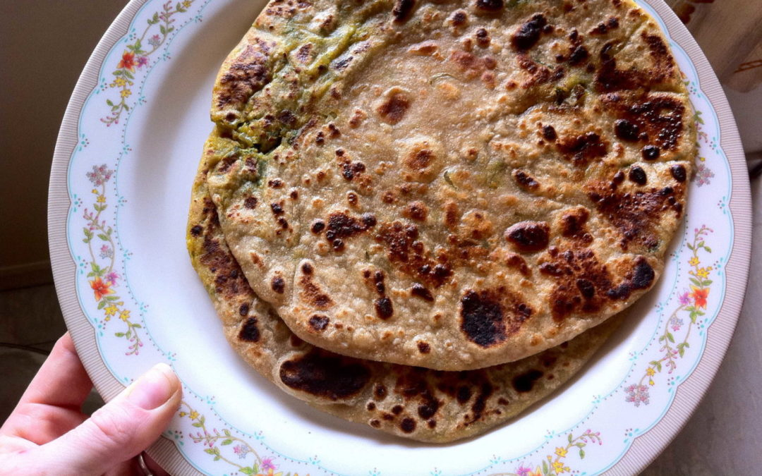 Aloo Parathas (with video)