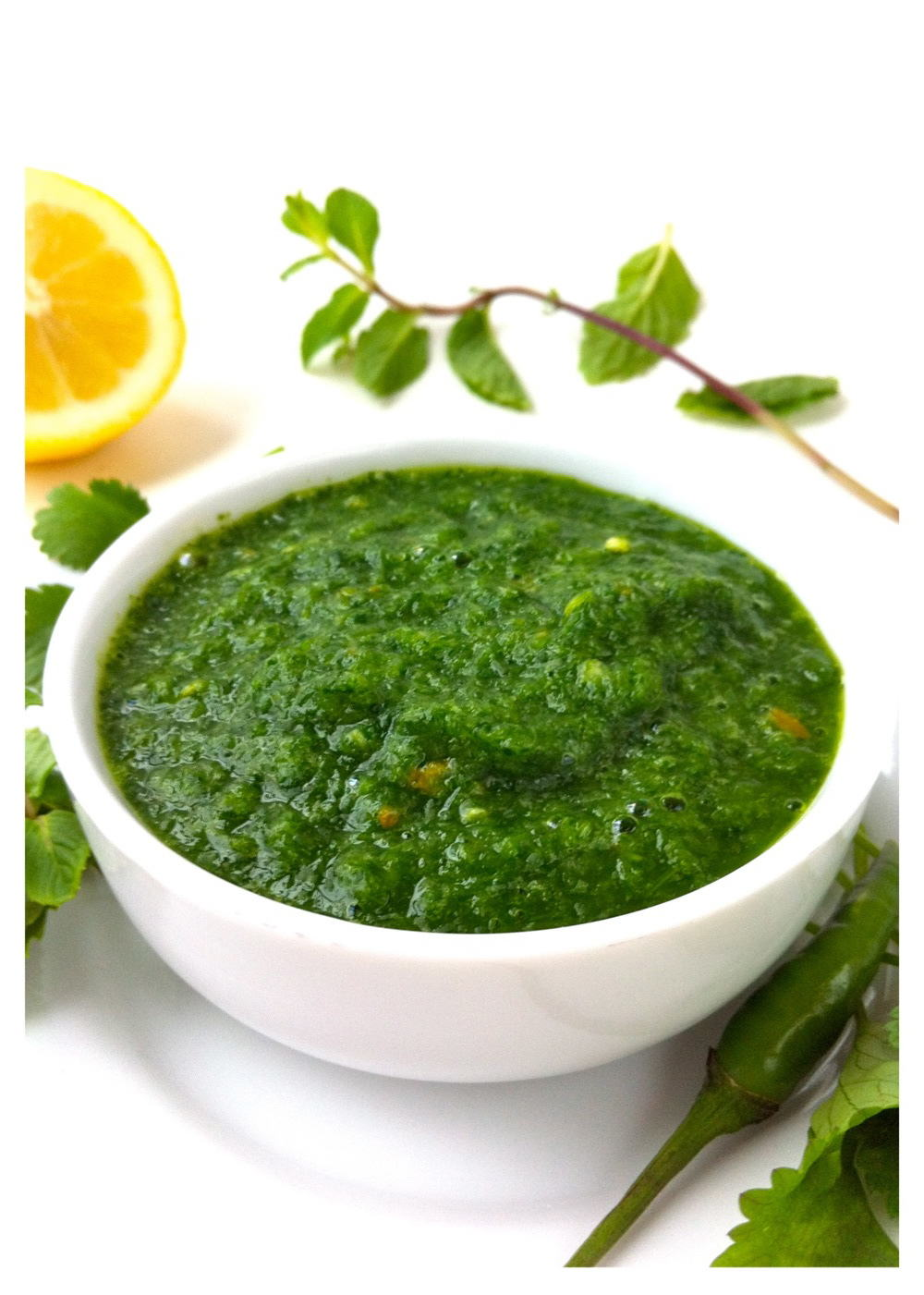 Green Chutney | A Curry of a Life