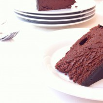 Chocolate Mirror Cake